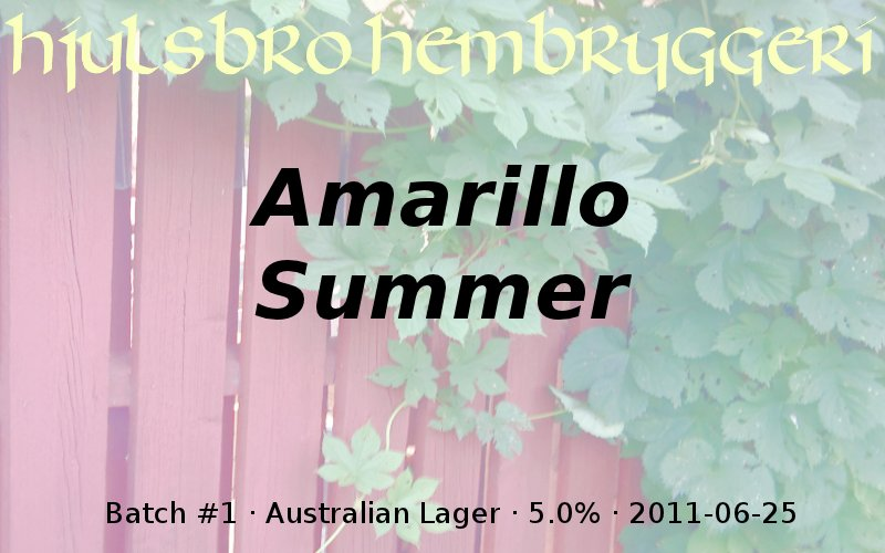 Amarillo Summer